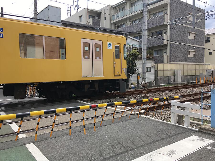 電車の遅延